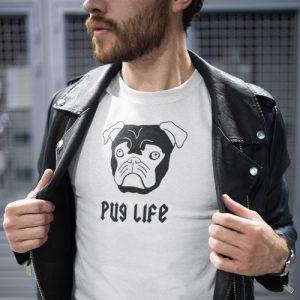 Pug Dog Life T-Shirt