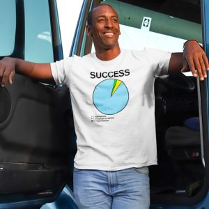 Success Pie Chart T-Shirt